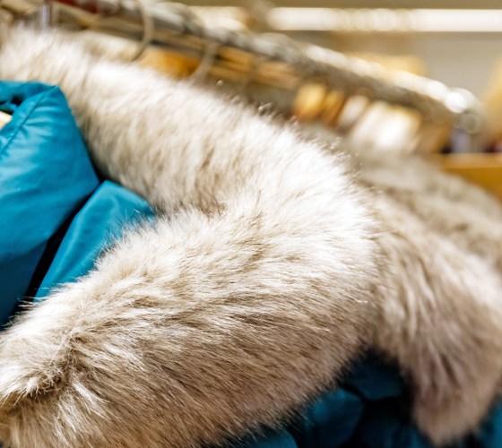 fur apparel in winters