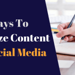 4 Ways to Optimize Content for Social Media