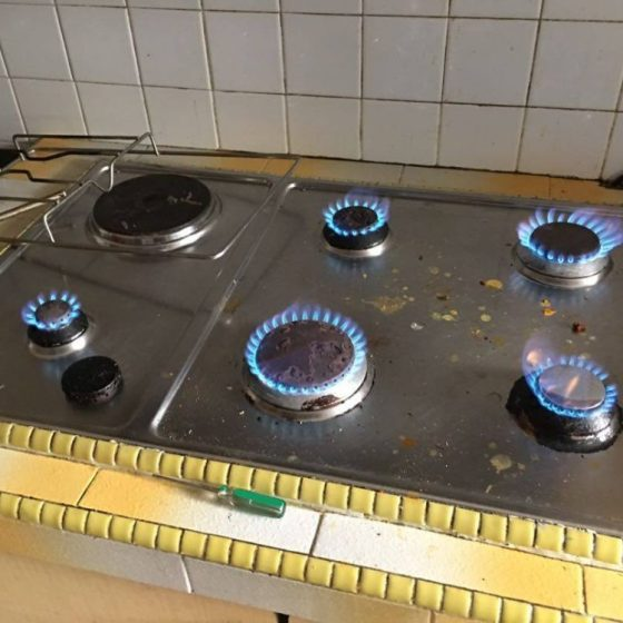 gas stove installation service