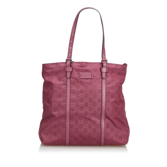 Gucci-Pink-Nylon-Bag