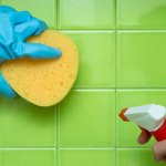 Learn how to clean the bathroom tiles in the most professional way!