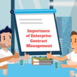 Importance of Enterprise Contract Management