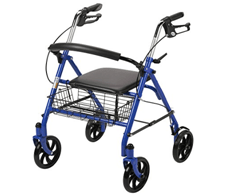 rollator walkers with seats