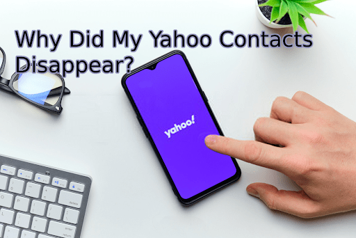 Yahoo backup contacts