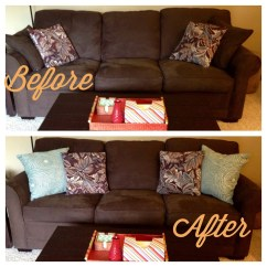 Decorative Pillows Brown Leather Sofa Hickory Chair Cost Accent Attractive Your Guide To Styling