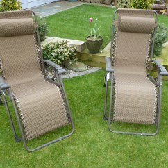 Reclining Deck Chair Asda Contemporary Living Room Chairs Relax In The Comfortable Garden Lounger And Enjoy Your