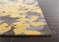 Yellow Grey Area Rug - Rugs Ideas
