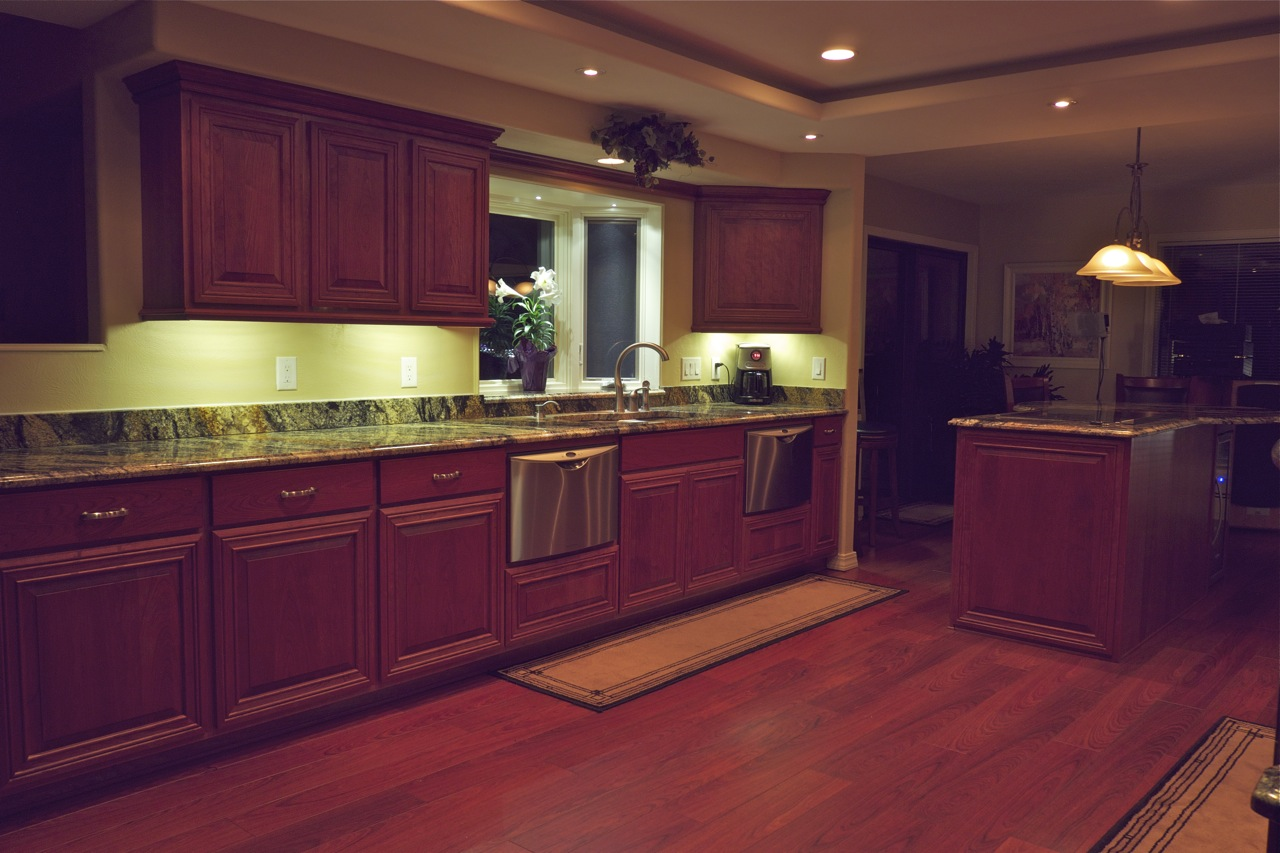 kitchen led lighting kitchens with islands benefits to install in your home