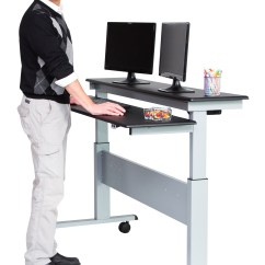 Stand Up Desk Chairs Canvas Butterfly Chair A Standing Can Improve Your Health