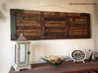 Large Rustic Metal Wall Art