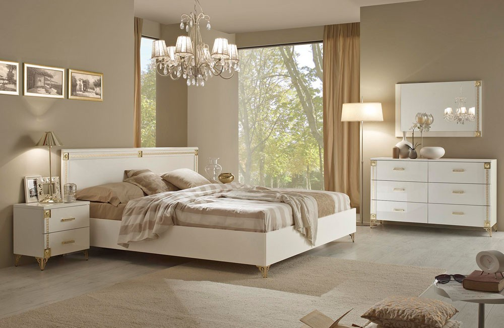 The Elegance Of Italian Bedroom Furniture