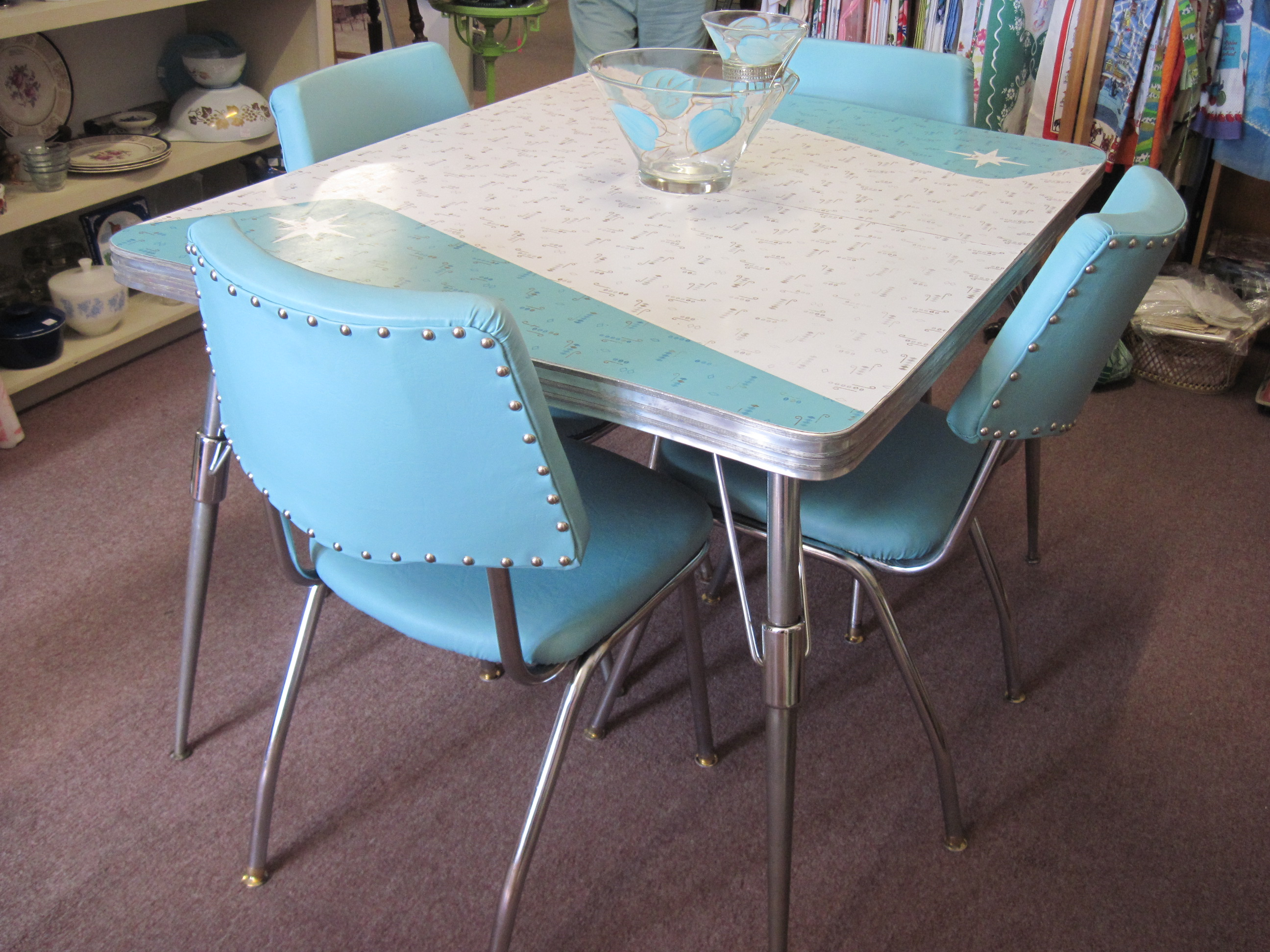 retro kitchen table maple transform your into a darbylanefurniture com