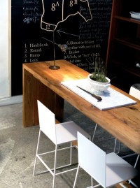 Narrow dining table- useful and classy ...