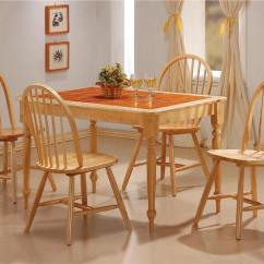Kitchen Table And Chair Office Lumbar Support Chairs For A Better Dining Time 47 Terracotta Tile Top W Using Xfbeugh