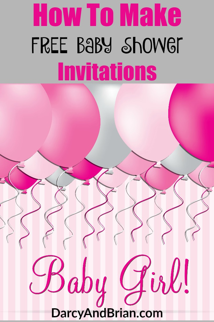 invitations to make online and print for free