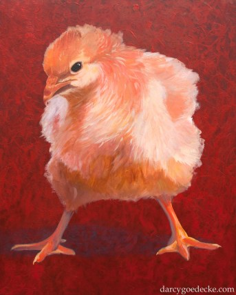"""Badass Chick #1"" Acrylic on Canvas 48 x 60"" 2008"