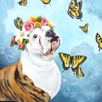 Bella | Custom Oil Painting by Darcy Goedecke