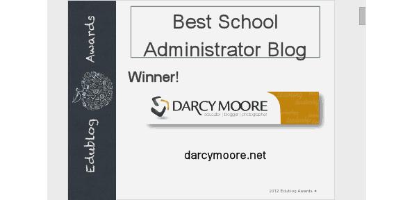 Best Administrator's Blog 2012