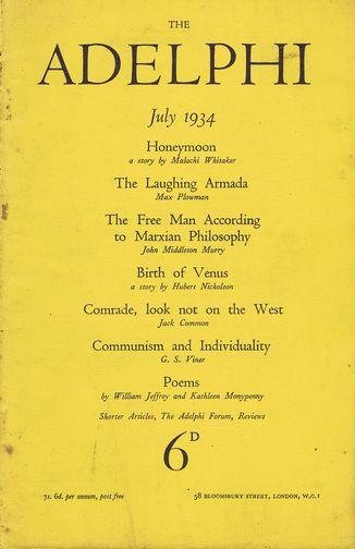 adelphi 1934