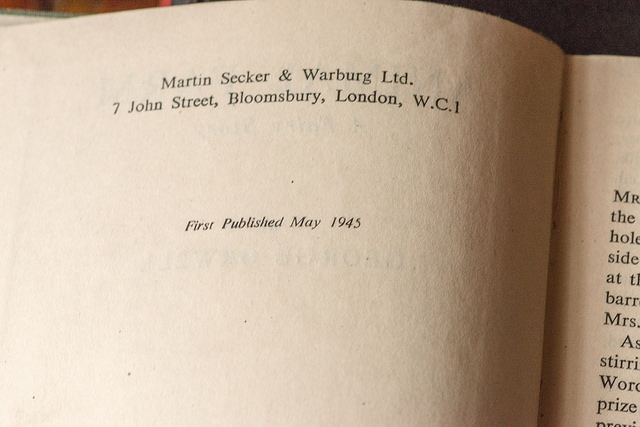 Critical Essays Secker And Warburg February 1946 3028 Printed