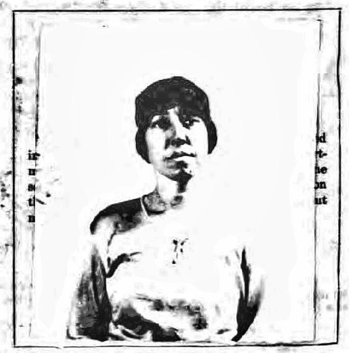 Ruth Eleanor Graves' 1924 passport photo