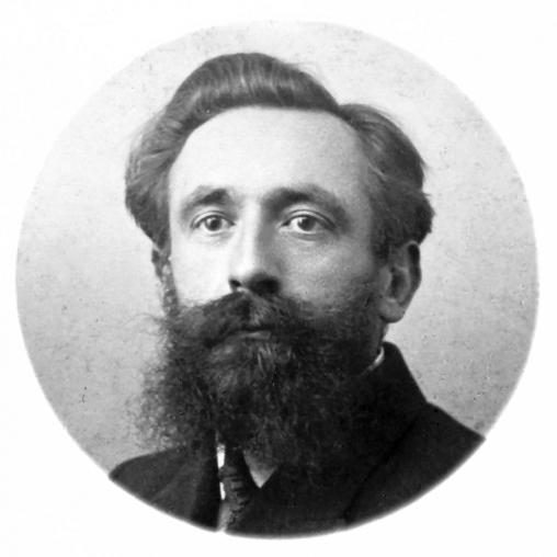 Eugène Adam in 1910 (Creative Commons)