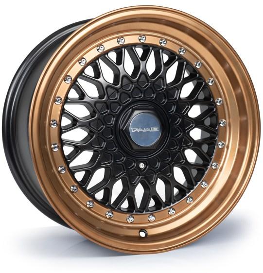 Dare - DR RS (Matt Black Bronze / Chrome Rivets)