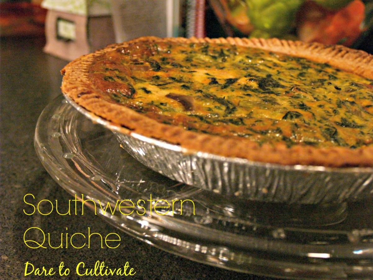 Southwestern Quiche Recipe