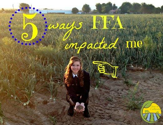 5 ways FFA impacted me