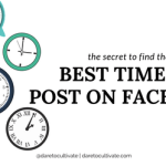 find the best time to post on facebook