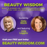 Julia Loggins speaking at beauty webinar