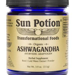 Sun Potion Ashwagandha Front View