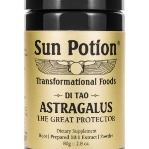 Sun Potion Astragalus Front View