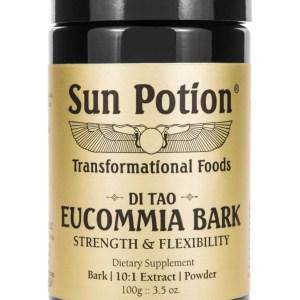 Sun Potion Eucommia Bark Front View