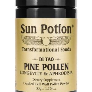 Sun Potion Pine Pollen Front View