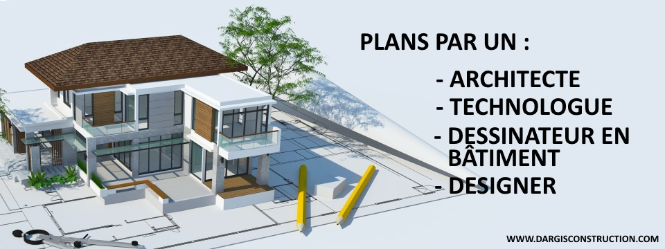 Plan Architecte Technologue Architecture Maison Montreal Permis Construction