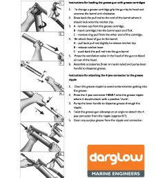 instructions for loading the grease gun [ 1088 x 1408 Pixel ]