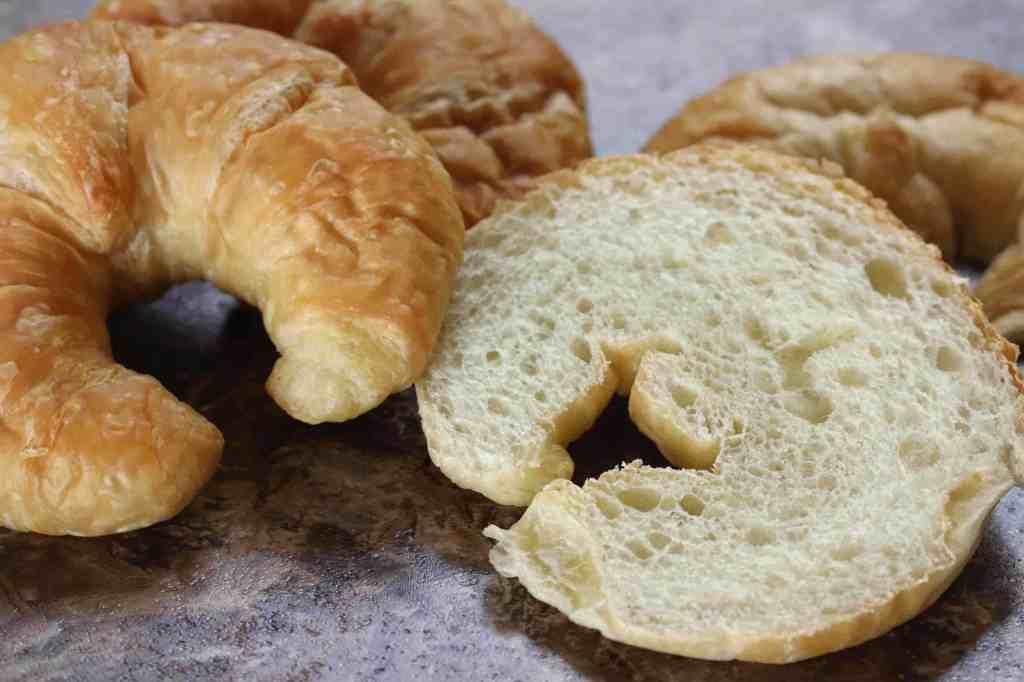 Orange Croissant French Toast prep 1