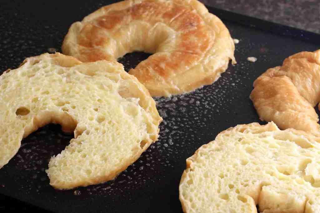 Orange Croissant French Toast prep 4