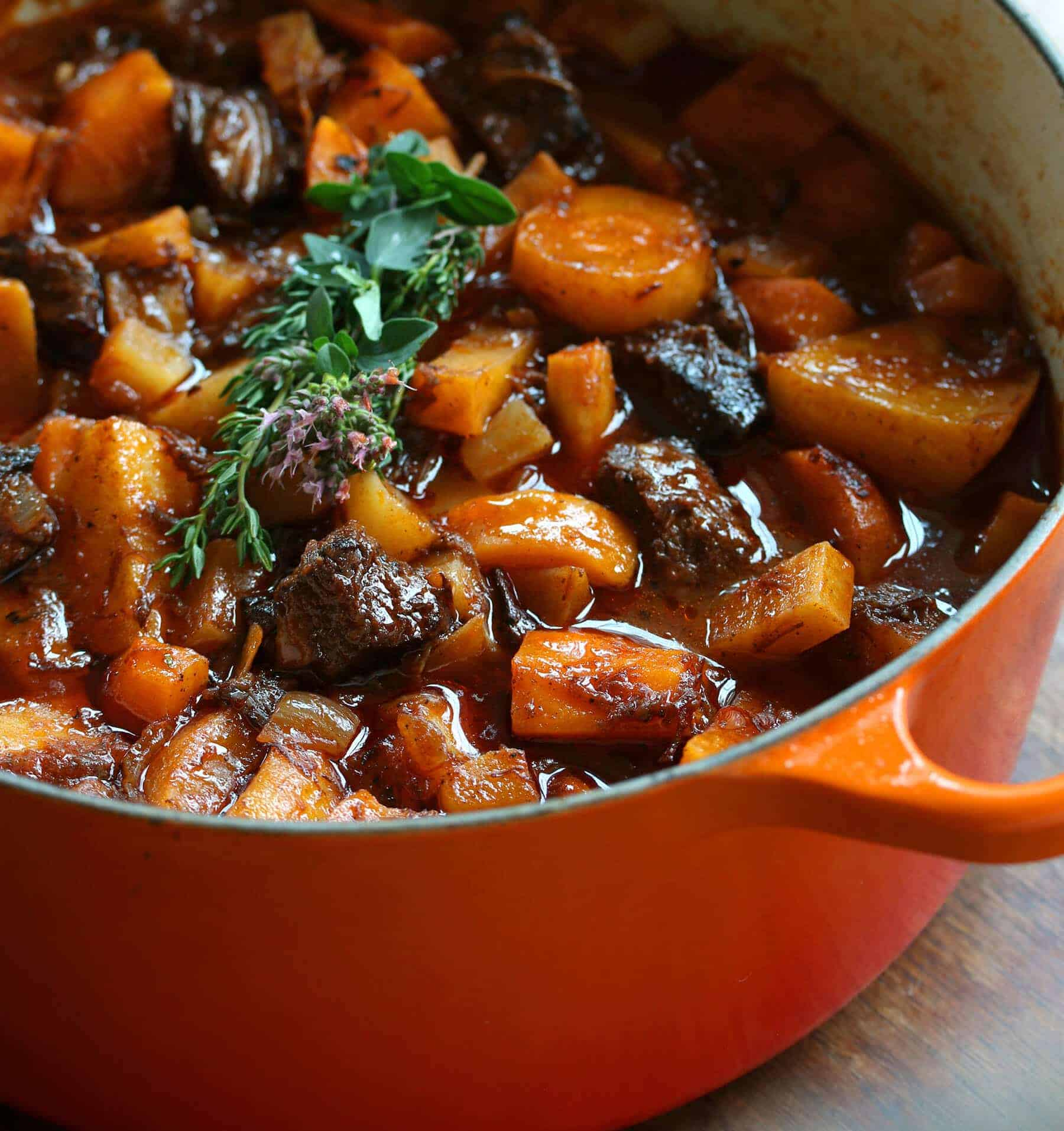 French Beef Stew with Oldfashioned Vegetables  The