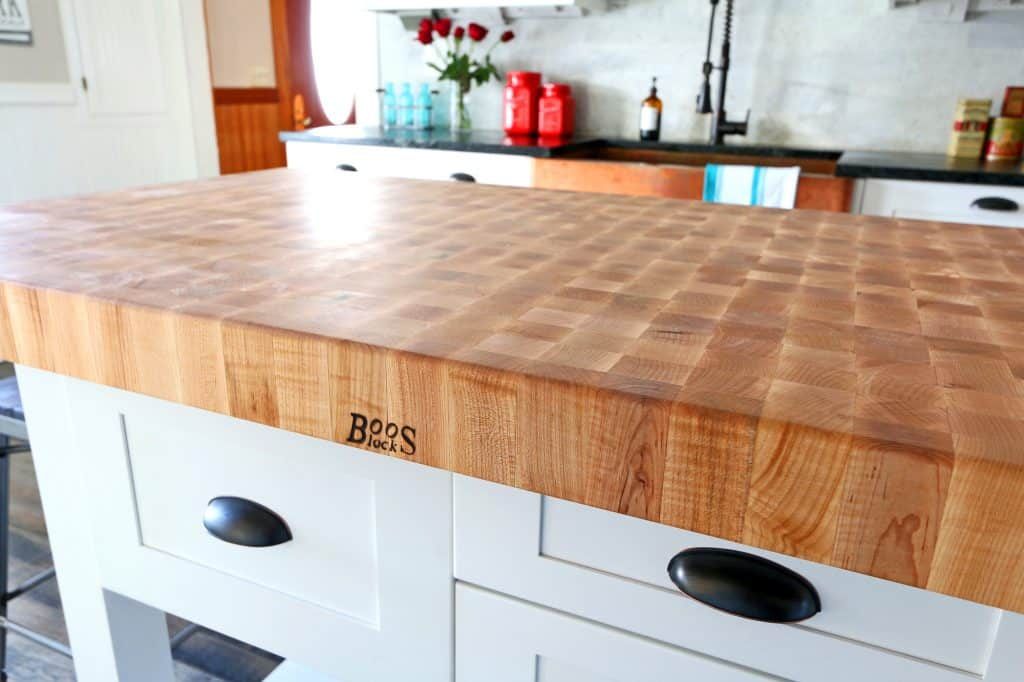 kitchen block remodel hawaii the 1912 modern farmhouse our john boos butcher review island table