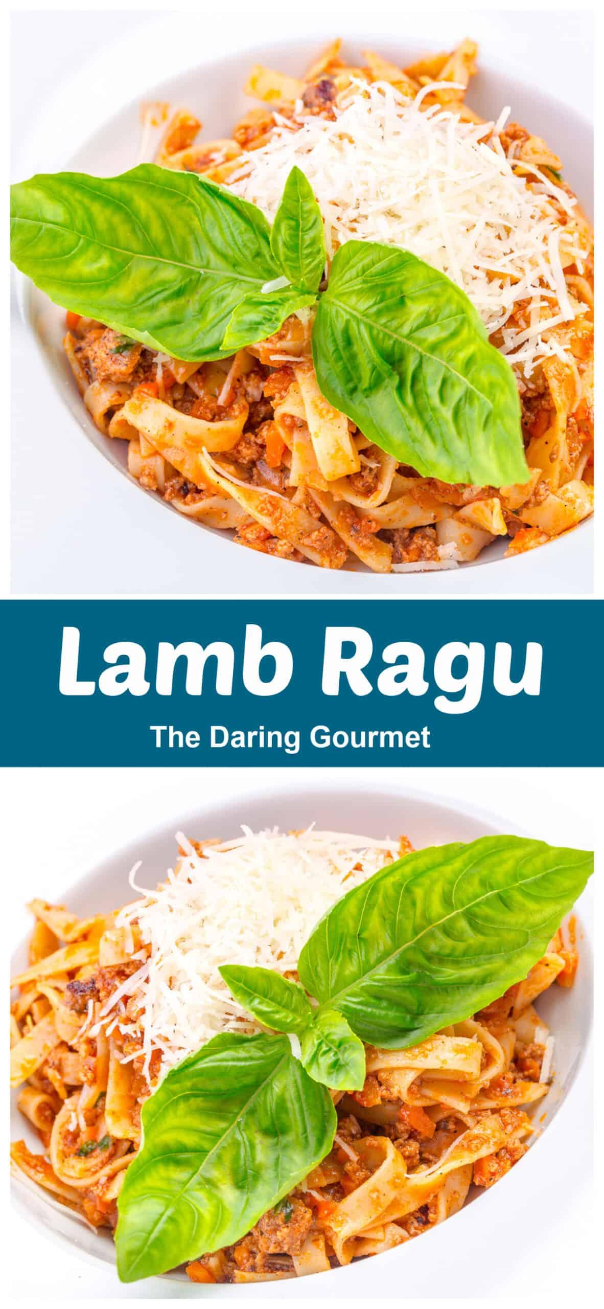 lamb ragu the daring gourmet