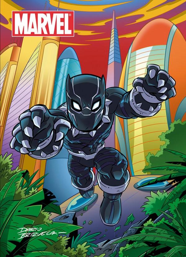 Cartoony Black Panther