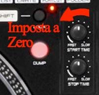 Start e Stop, Fast Slow impostate in posizione di partenza, a zero