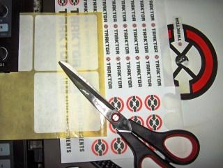 come creare un adesivo per marker cue
