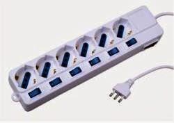 multipresa per comandare singolo componente e luce