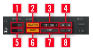 Master Clock Panel