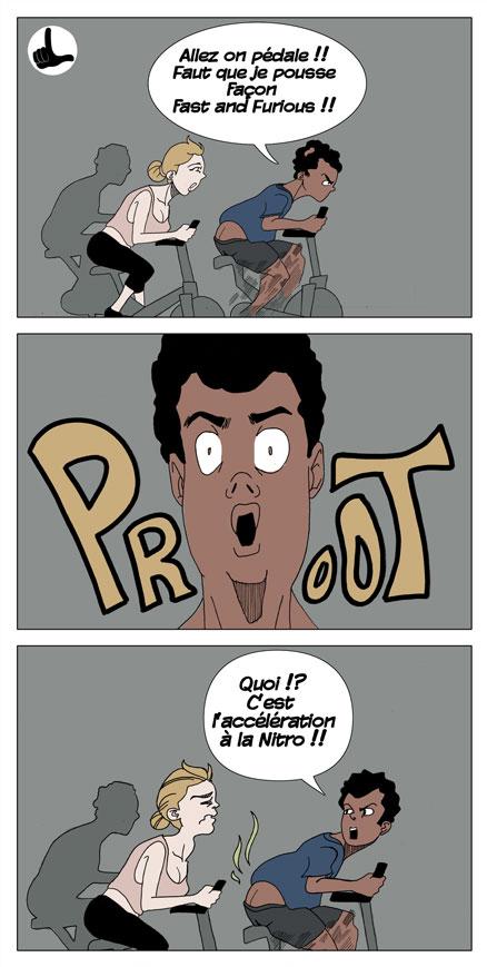 Loser épisode 9 - La salle de Gym