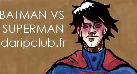 illustration batman vs superman