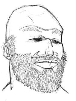 wwe WrestleMania 32 dallas mark henry portrait illustration andre the giant